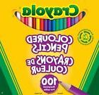 Crayola Colored Pencils 100 Count New Damaged Box