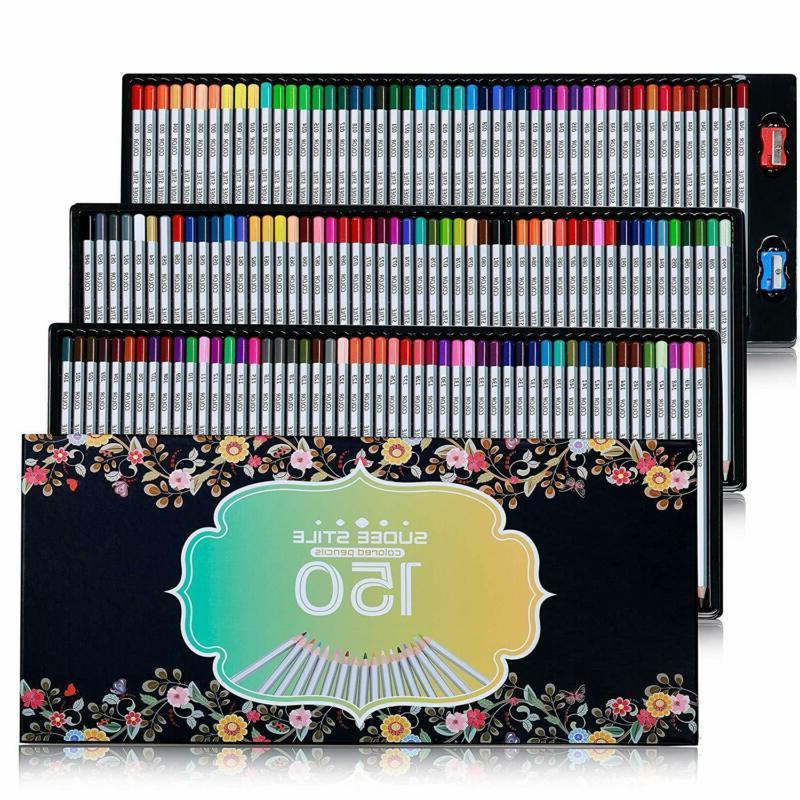 Sudee Stile Colored Pencils 150 Unique Colors  Art Drawing C
