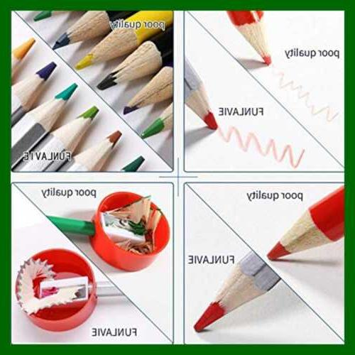 Colored Coloring Premium Drawing Pencil For Adults