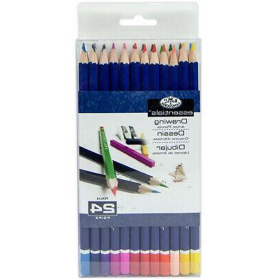 colored pencils 24 pkg