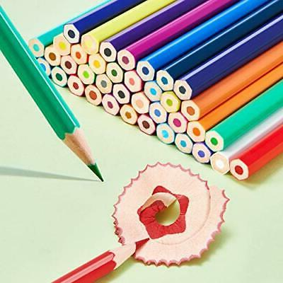Ohuhu colored 48 color oil-based hexagonal pencil with