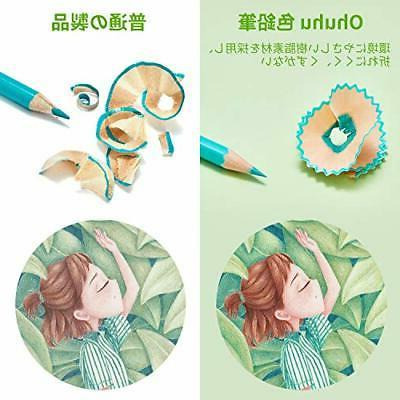 Ohuhu colored color shaft pencil with