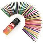 ARTEZA Colored Pencils 48 Pcs Soft Core Triangular Grip Draw