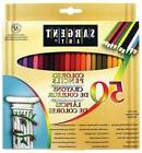 SARGENT ART Colored Pencils 50 Pack - Pre-sharpened, Non-tox