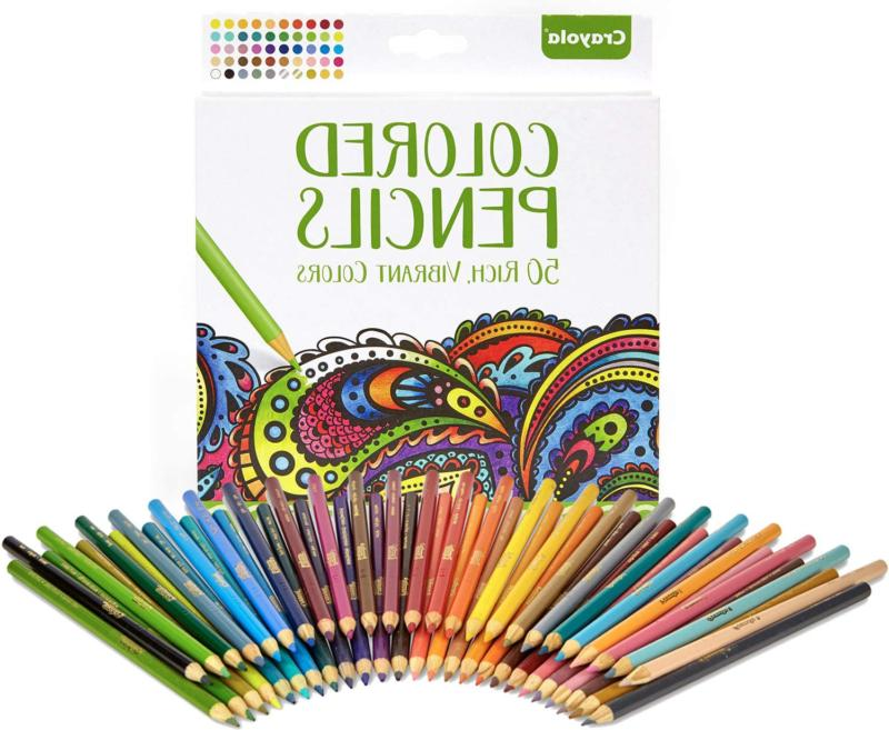 colored pencils adult coloring stocking stuffers