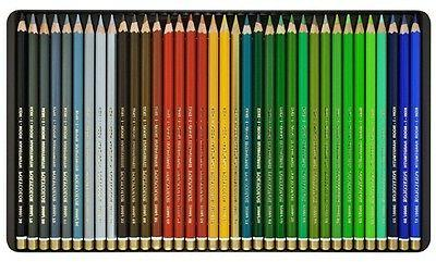 Colored Pencils 72 3827 in Metal