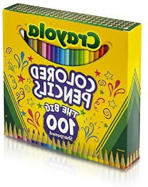 Crayola Colored Coloring Gift, Count