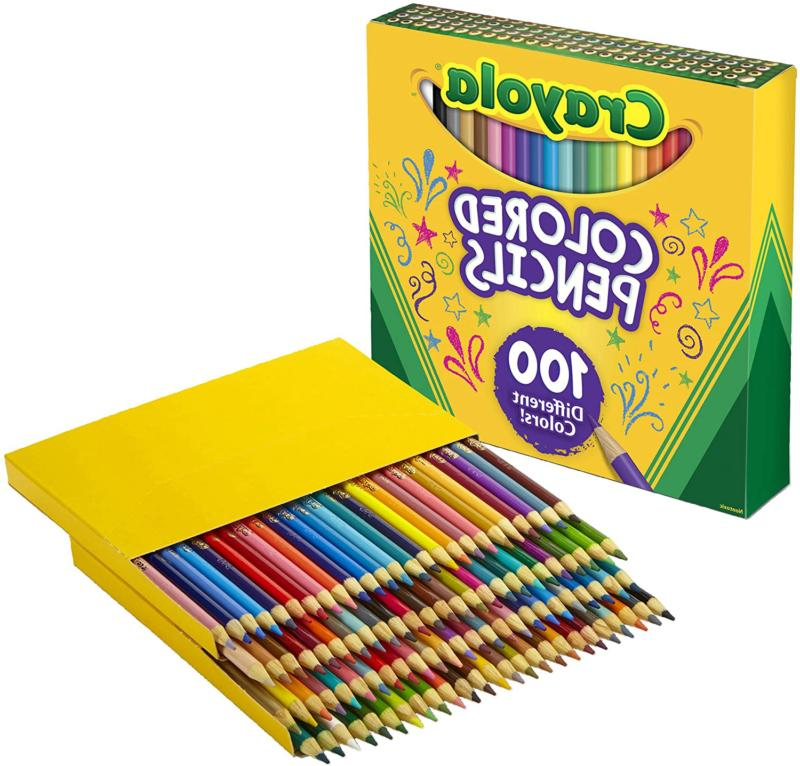 colored pencils adult coloring set gift 100