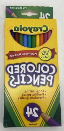 Crayola Colored Pencils - Pack of 24, of of