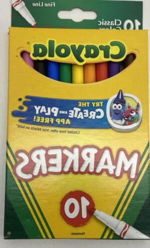 Crayola Pencils Pack Markers-Pack of of