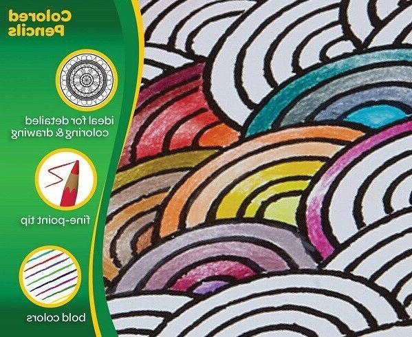 Colored Set Crayola Count Long Pencil
