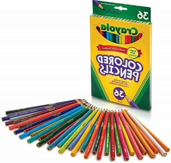 Colored Set School Supplies Count