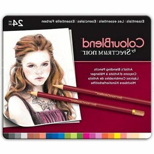 Spectrum Noir ColourBlend Pencils 5 Sets, 120 Blendable Artist