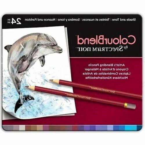 Spectrum Colored Pencils - 120 Blendable Artist Colors