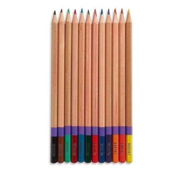 Reeves Coloured Pencils 12 Ideal for Pale