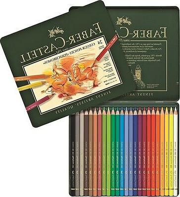 Coloured POLYCHROMOS 12, 24 colors Faber-Castell version