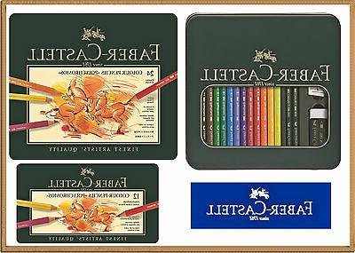 coloured pencils polychromos 12 24 colors faber