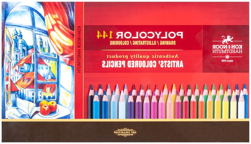 Coloured pencils Koh-I-Noor 144 3828 2 metal