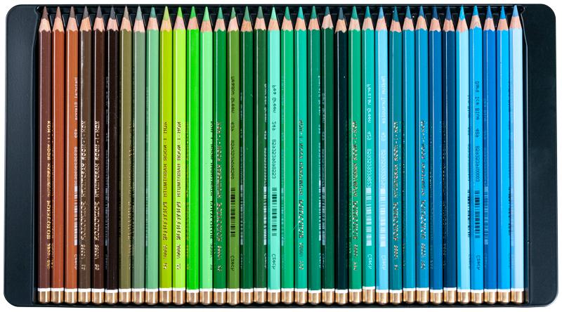 Coloured pencils Koh-I-Noor 144 3828 in 2 metal