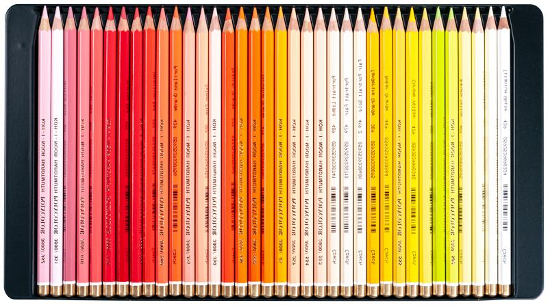 Coloured pencils Koh-I-Noor 144 colours 2