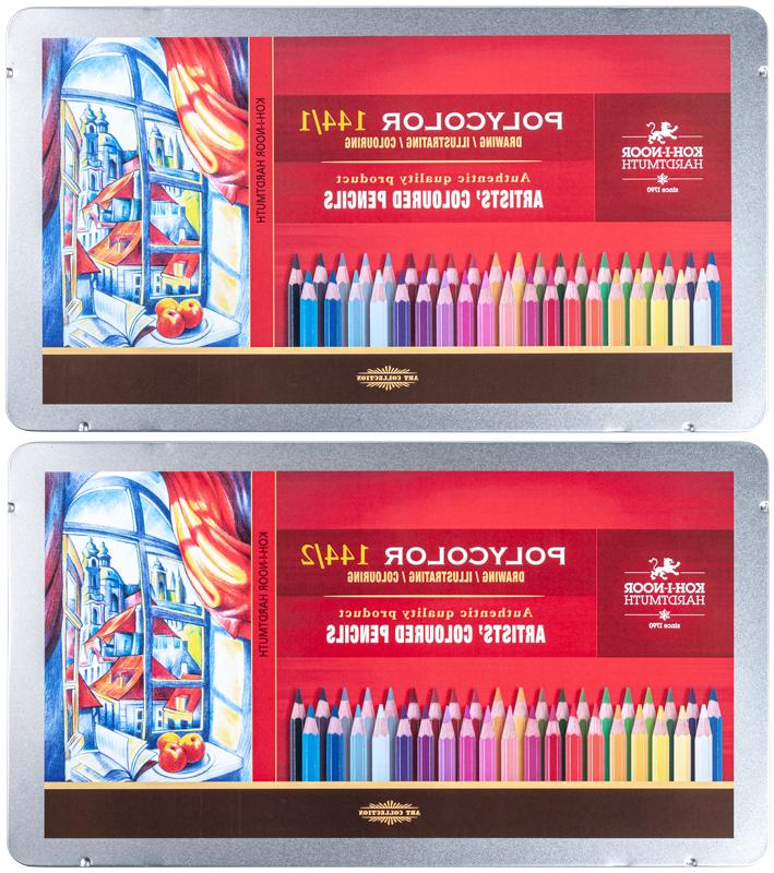 coloured pencils polycolor koh i noor 144
