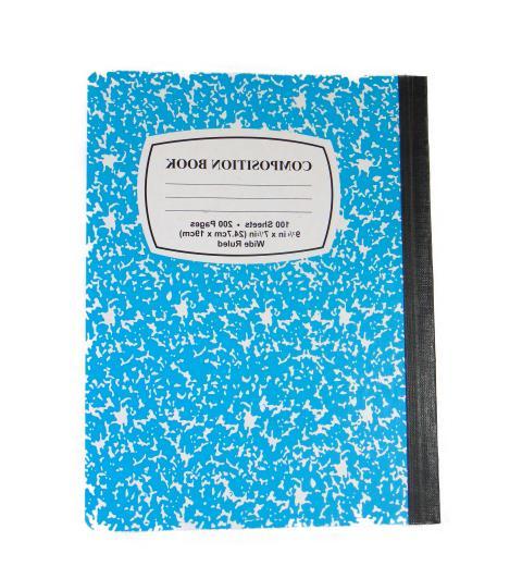 Composition Notebooks 100 Pages Pencils