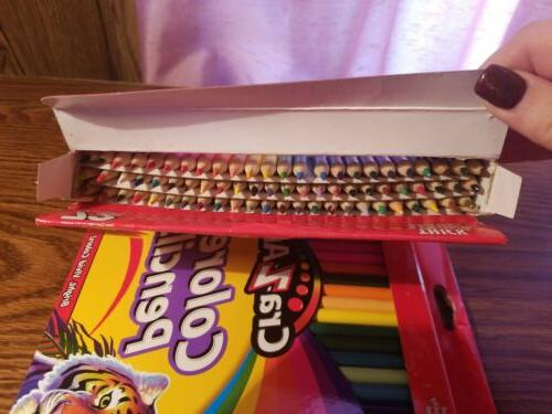 Cra-Z-Art Colored Bright Vivid Colors! 72 Lot Of