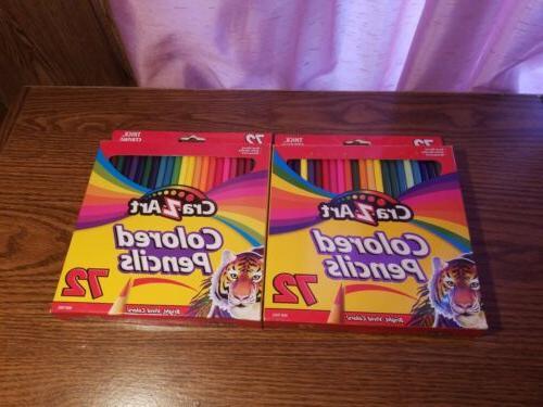 cra z art colored pencils bright vivid