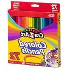 Cra-Z-Art Colored School Pencils Kids Art Craft Supplies Rea