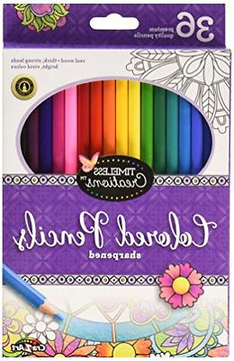 Cra-Z-Art Timeless Creations Adult Coloring: 36ct Colored Pe