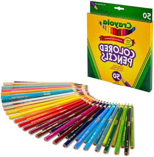 crayola pencils long