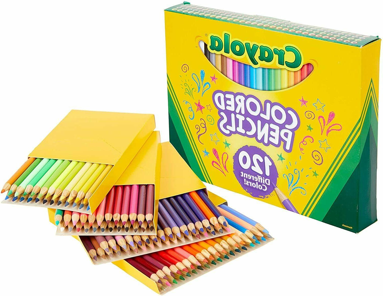 Crayola Colored Repeat Coloring 120Count,