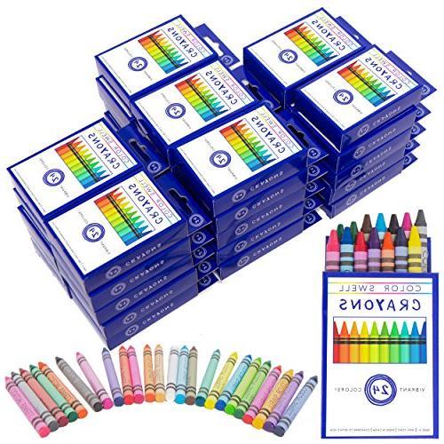 crayons bulk 36 sets 864