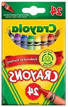 Crayola Crayons, 24 count  Case of 12 packs