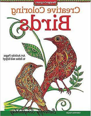 Design Originals-Creative Coloring Birds
