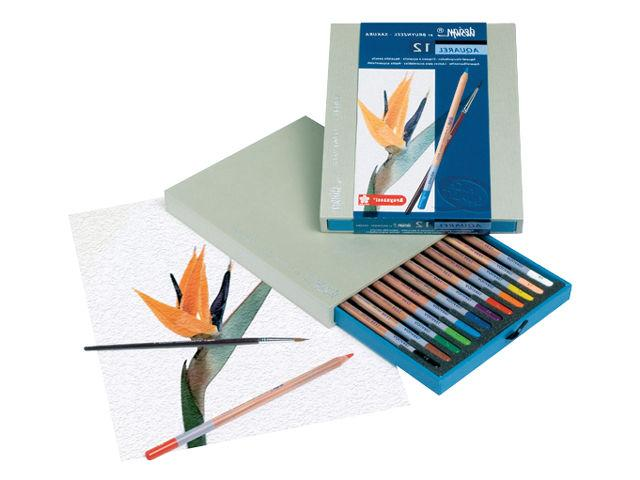 design artist quality water soluble coloured pencils