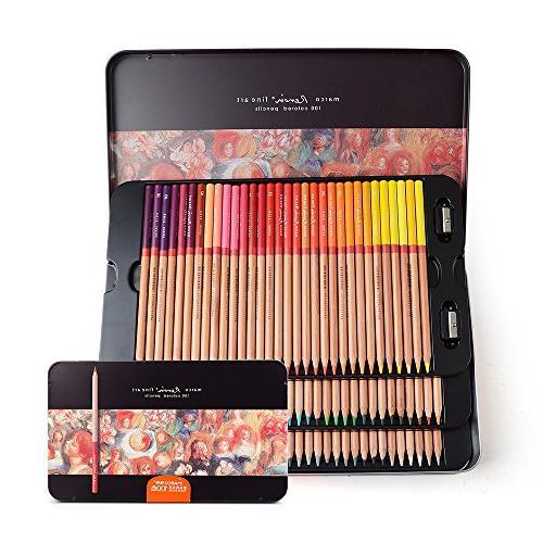 distinct oil based pencils