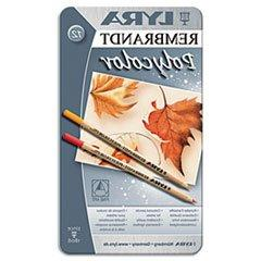 DIX2001120 - LYRA Artist Colored Woodcase Pencils, Assorted,