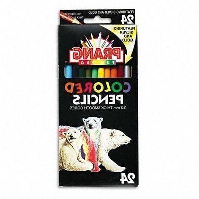 Dixon Prang Colored Pencils-prang Colored Pencils, 3.3 - Pen