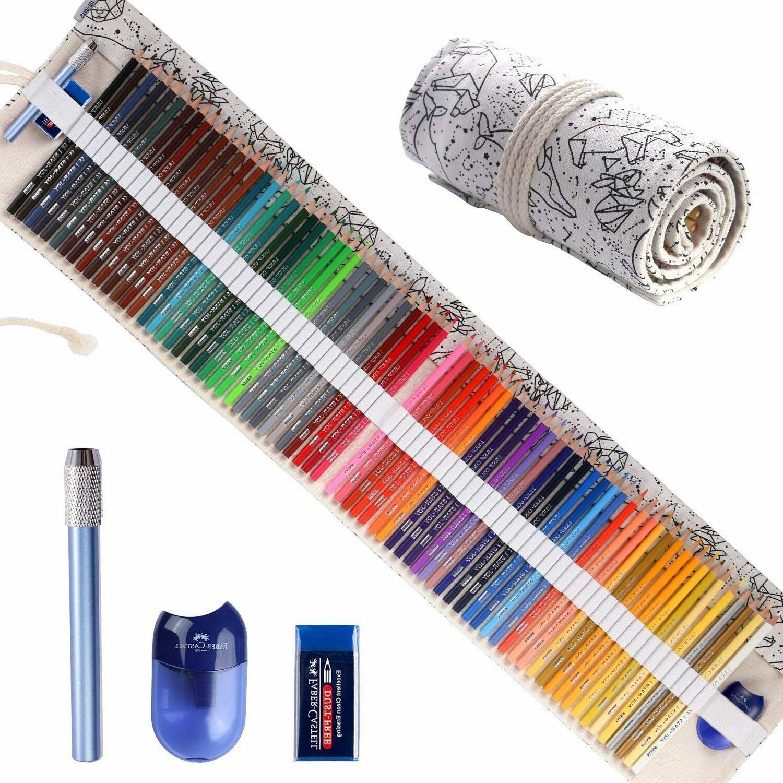 Drawing Oil-Based Set Colored Pencils Artists Sketchers Soft