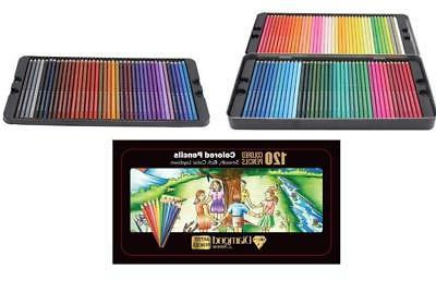 Diamond Driven #1 Artists Colored Pencils 120 Premium Soft C