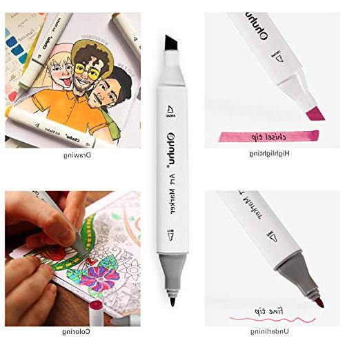 Permanent Marker Markers Kids, Pen with Coloring and Supplies