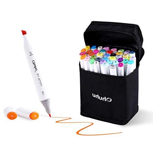 dual tips permanent marker pens