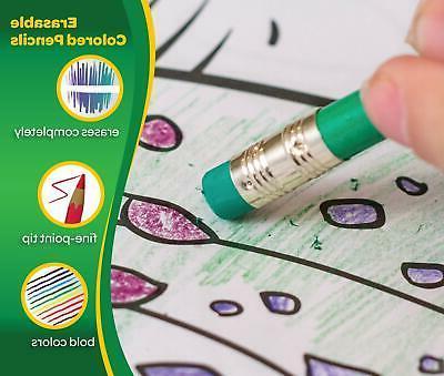 Crayola Pencils Coloring Book 50 Count