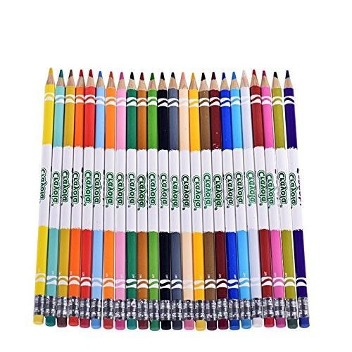 Crayola Erasable 24 Erasable Set for Books or Kids 4 & Up, Great for Shading, Gradation, Line &