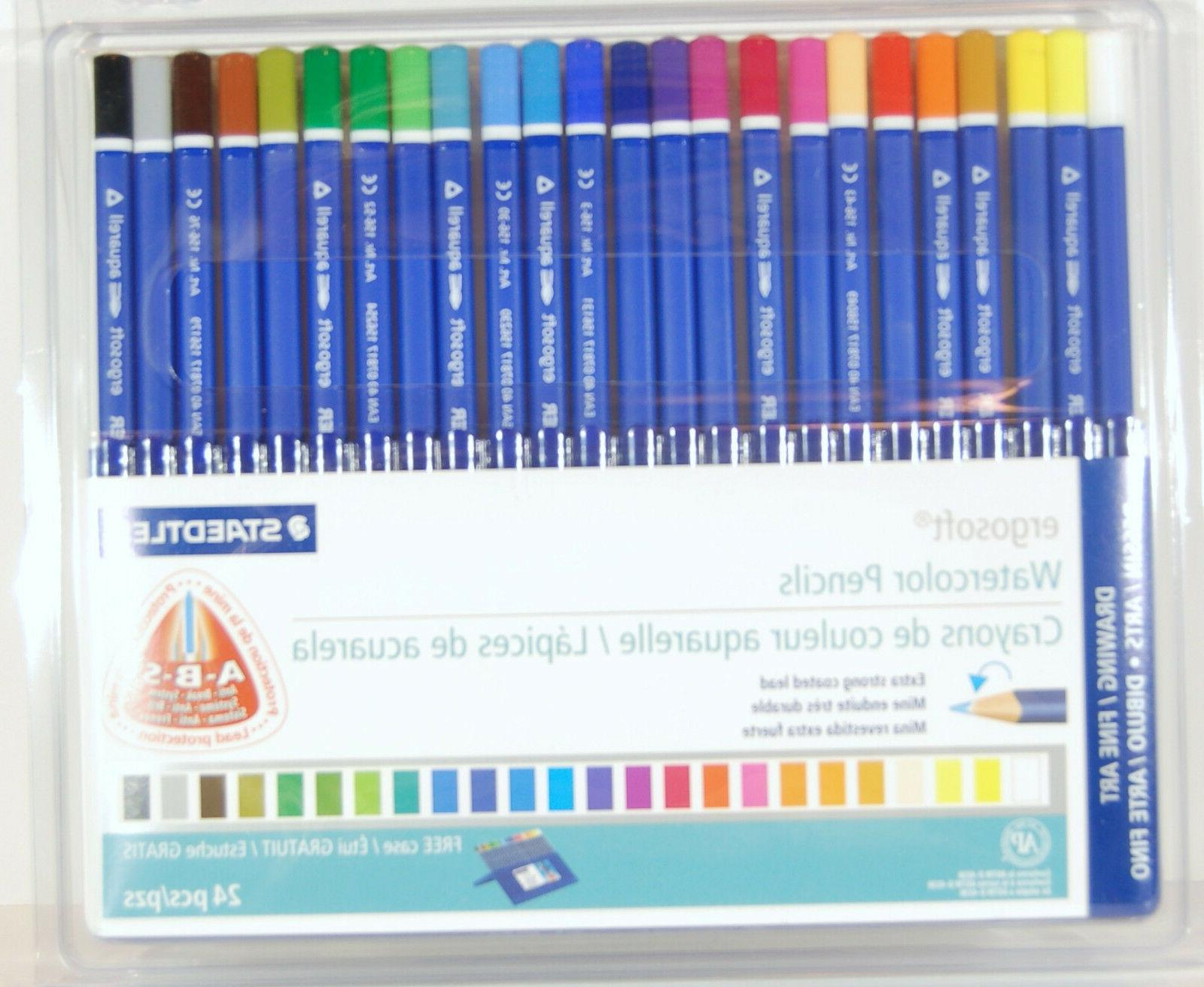 Staedtler Ergosoft Colored Pencil Sets 3.0 mm set of 24
