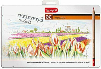 expression 36pc colored pencil set