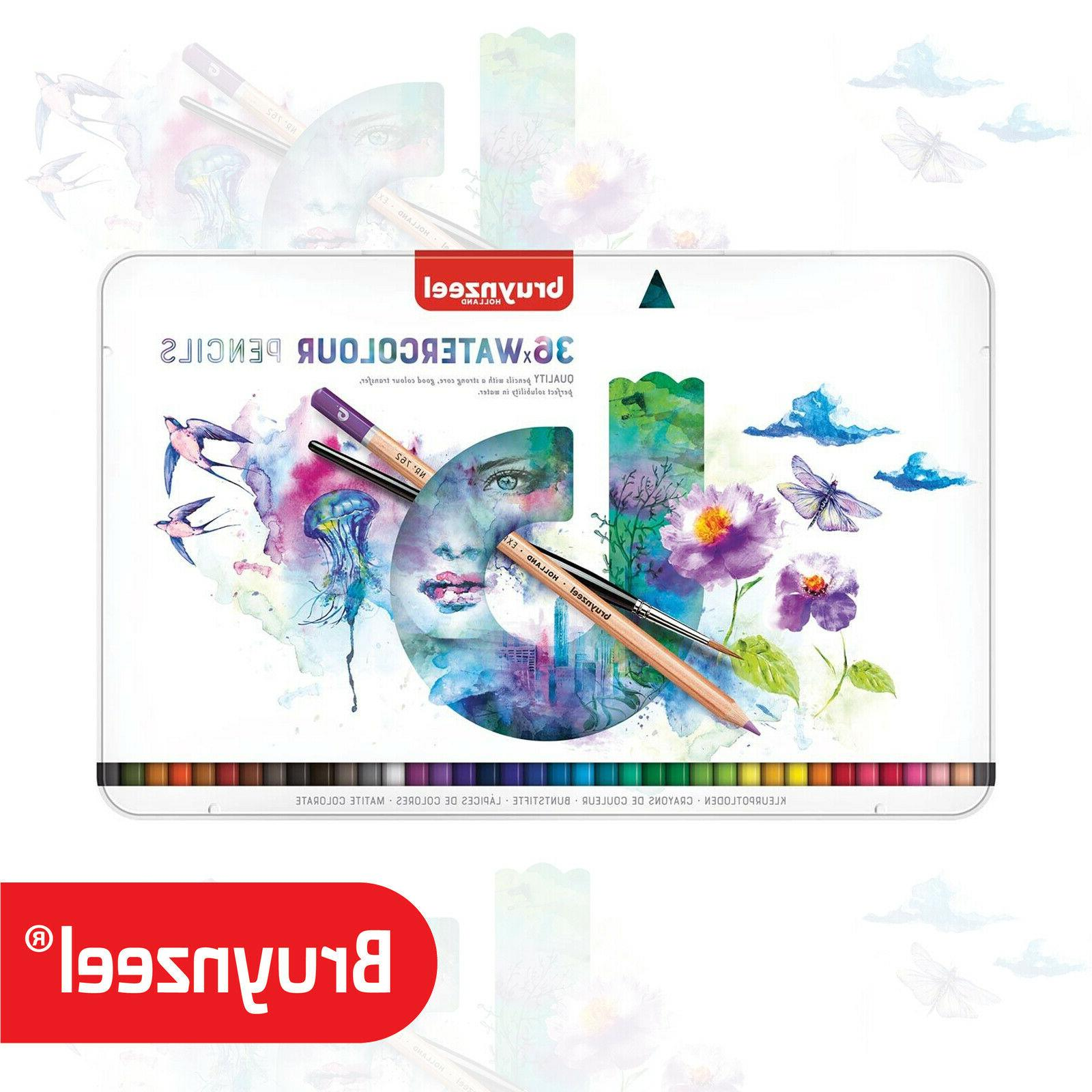 Bruynzeel - Expression Aquarel - Tin of 36 Artist Watercolou