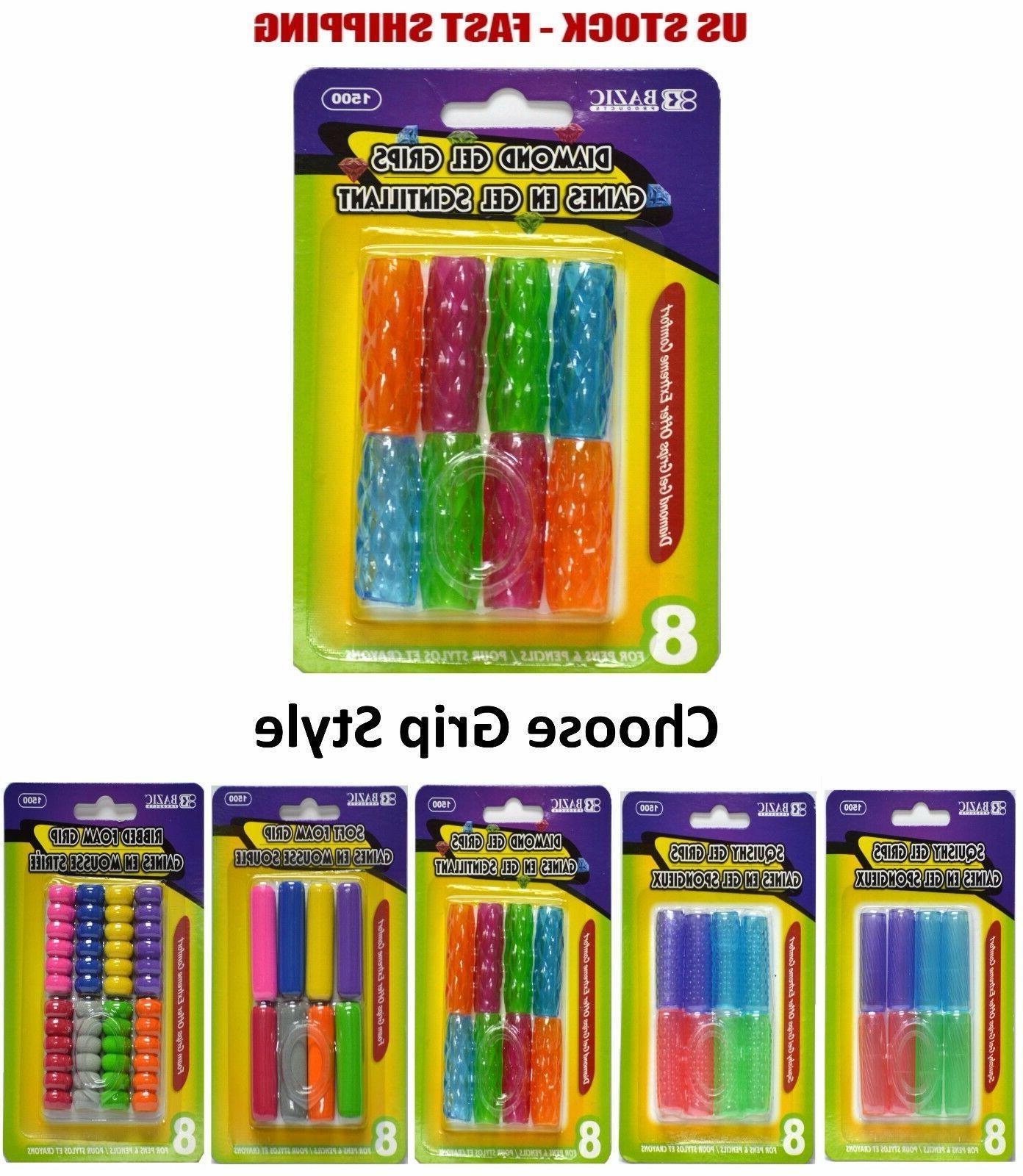 extreme comfort assorted color shape pencil pen