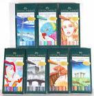 Faber Castell 6 Pitt Artist Pens Brush Tip Multiple Styles t